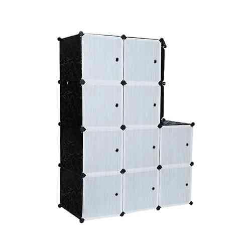 10 Door Portable Foldable Clothes Closet