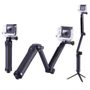 3-way mount Tripod monopod