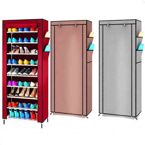 9 layer shoe rack