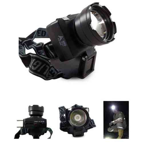 Aiko 3W Rechargeable Head Mounted LED Torch Lamp AS-696
