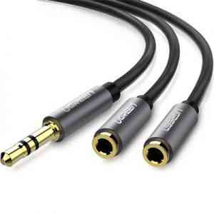 Audio Stereo Y Splitter Extension Cable