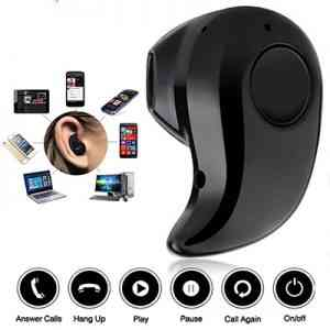 Bluetooth Earphone Mini Wireless in ear Buds Earpiece Cordless Hands free