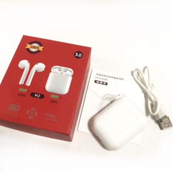 H2 5.0 Airpods Bluetooth 5.0 Wireless Earphones
