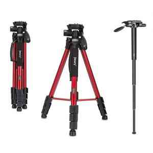 Jmary Professional Aluminium Tripod and Monopod for All DSLR Cameras