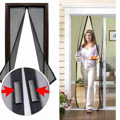 Magic Mesh Magnetic Screen Door