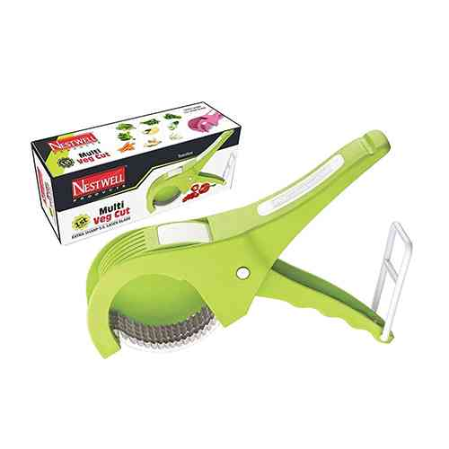 Multi Veg Cut 5 Laser Blade Vegetable & Fruits Cutter Chopper Slicer
