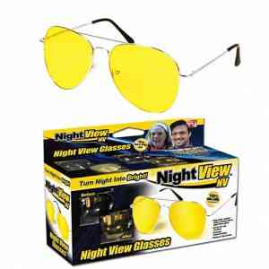 Night View NV Yellow Night Vision Sunglass