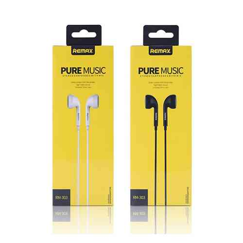 REMAX RM-303 3.5mm Wired Earphones