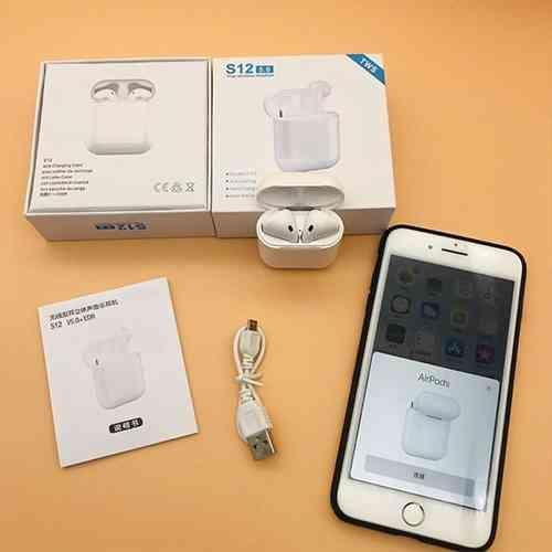 S12 5.0 Airpods wireless Bluetooth 5.0 headphones