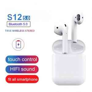 S12 5.0 Airpods wireless Bluetooth 5.0 headphones