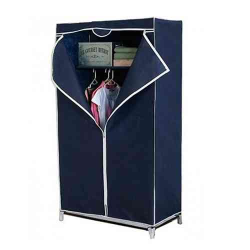 Single Door Portable Folding Wardrobe