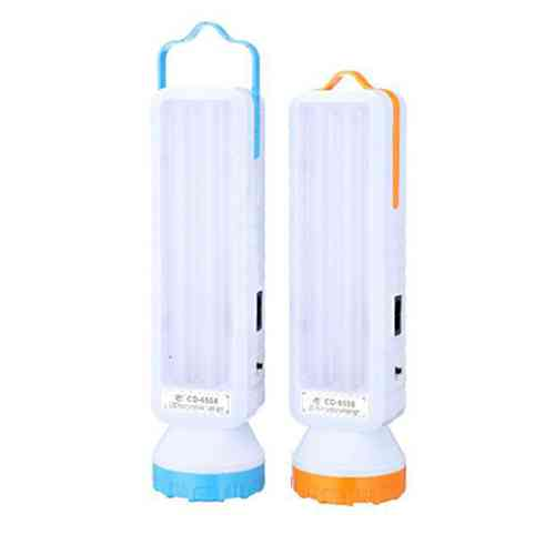Solar Energy LED Torch Flashlight with colored box