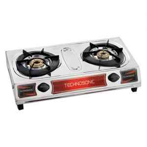 Technosonic Two Burner Gas Cooker