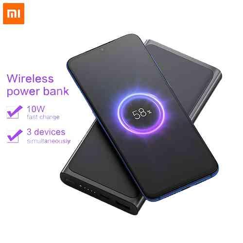 Xiaomi Mi Wireless Charger Power Bank 10000mAh