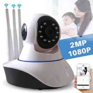 Motion-activated security camera records