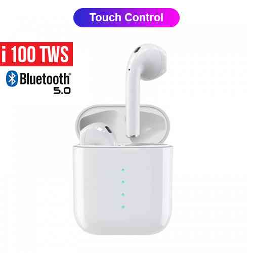 i100 TWS Airpods Bluetooth 5.0 Earphones
