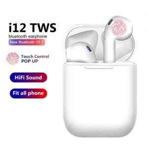 i12 TWS Wireless Earphones Mini Earbuds