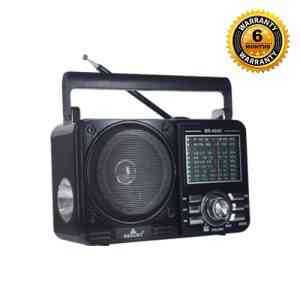 Bright FM Radio with Torch Light BR-4045