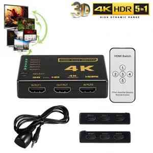 5 Port 4K HDMI Switch