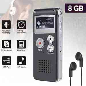 Digital Voice Recorder 8GB STEREO