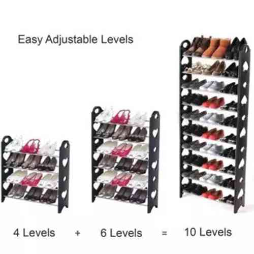 Stackable Shoe Rack 10 Layers
