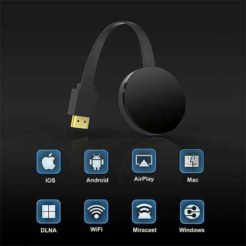 Wireless HDMI Dongle WiFi Display Dongle Receiver TV Miracast