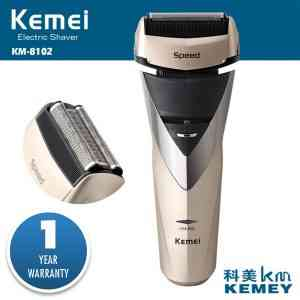 Electric Rechargeable shaver kemei washable electric razor