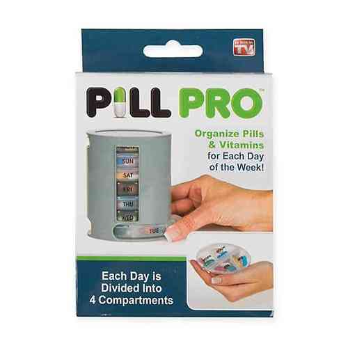 PILL PRO Pill Organizer Pill Box