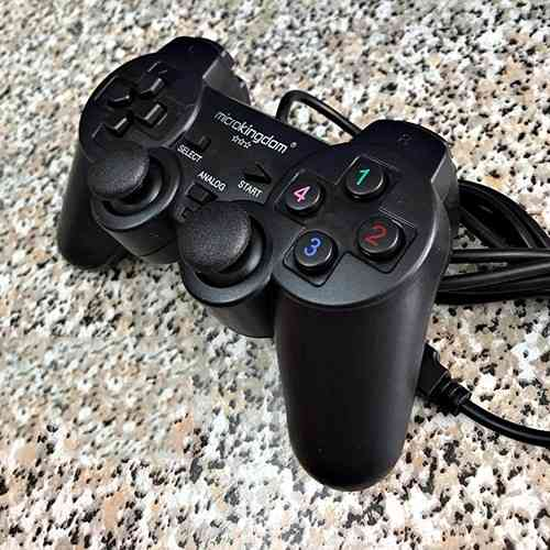USB Wired PC Game Controller Gamepad