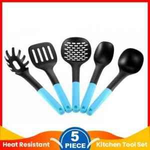 5 Pieces Heat Resistant Nylon Kitchen Tool Set
