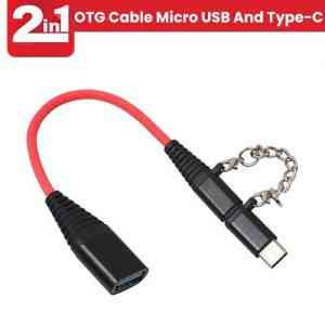 OTG Cable Micro USB And Type-C
