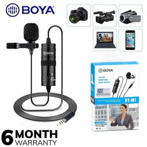 BOYA BY - M1 Clip-On Microphone