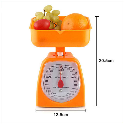 Analog Kitchen Scale 5Kg