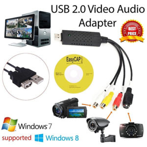USB 2.0 Video Capture Card Converter PC Adapter
