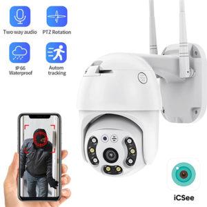 Outdoor WiFi Camera HD1080P Waterproof Wireless IP Camera