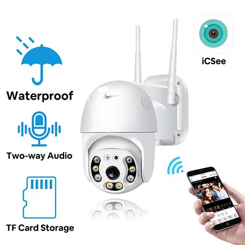 Outdoor WiFi Camera Waterproof PTZ Wireless IP Camera Sri Lanka