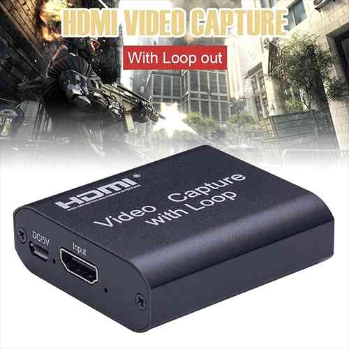 Video Capture Card with Loop