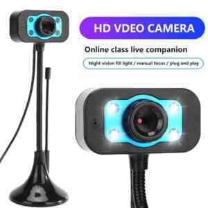 Webcam for Pc and Laptop USB Web Camera 720p