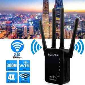 Pix Link Wifi Repeater LV-WR16 Range Extender Booster