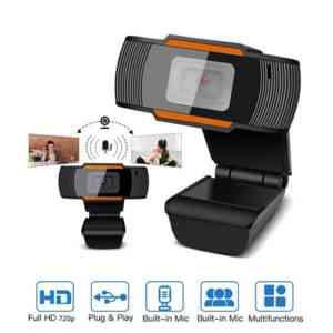 USB Web Camera with Built-in Microphone Sri Lanka @ido.lk