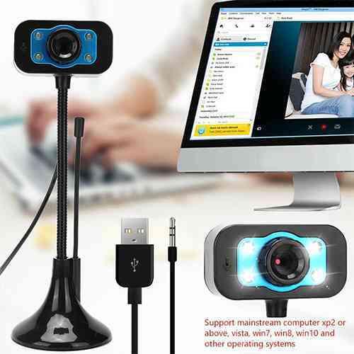 Webcam for Pc and Laptop USB Web Camera 720p @ ido.lk