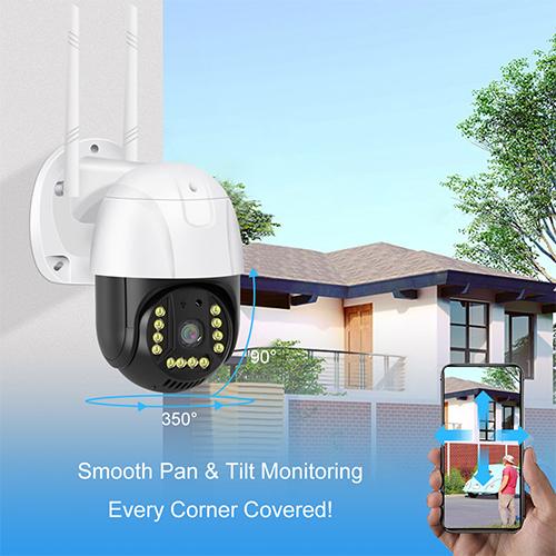 V380 Pro Wifi Camera PTZ WIFI IP Camera 1080P