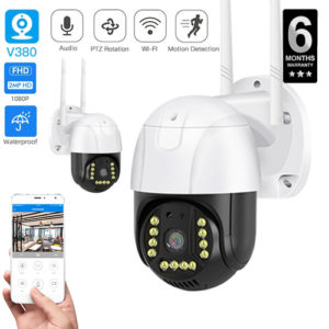 V380 Pro Wifi Camera Wifi Outdoor Camera PTZ WIFI IP Camera 1080P